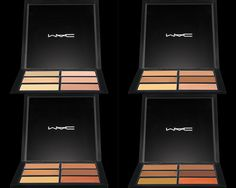 Studio Sculpt Conceal and Correct comes in 4 palettes:  •Light •Medium •Medium Deep •Dark The perfect fix for tired eyes, dark circles, contouring, highlighting and concealing.  $40 Available at MAC stores, counters and online! Slim enough to take with you, or keep in your makeup bag.
