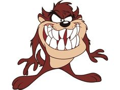 How to Draw Taz from Looney Tunes. Taz is a cartoon character from Warner Brothers Looney Tunes series. Taz, or the Tasmanian Devil, has an appetite for anything and everything, making him a character that you will enjoy watching. Looney Tunes Characters, Looney Tunes Cartoons, Classic Cartoon Characters, Classic Cartoons, Cartoon Pics, Cartoon Drawings, Cartoon Art, Famous Cartoons, Cool Cartoons