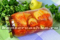 Оригинальный рецепт заготовки на зиму болгарских перцев. Фаршируем их овощами, чесноком и пряными специями. Вкусная закуска на любой случай, к любому столу.
