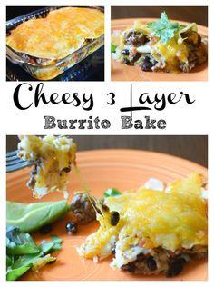 Cheesy 3 Layer Burri