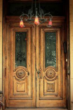 Incredible front doors.