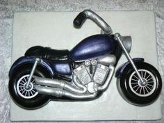Yamaha motorbike Cake