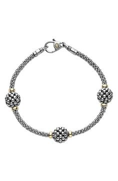 LAGOS 'Caviar Forever' Ball Station Bracelet available at #Nordstrom