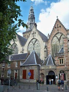Oude Kerk, (Old Church) Amsterdam, Netherlands