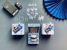 Tutoriel Boite Mini pot de Nutella 15 ans Fleurs en Papier Mini, 15 Anos, Advent Calendar, Paper Flowers