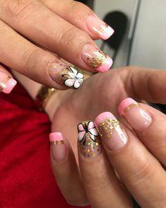 Toe Nail Art, Toe Nails, Spring Nails, Summer Nails, All The Colors, Nail Art Designs, Hair Beauty, Work Nails, Vestidos