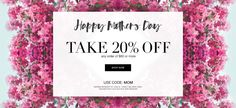 *MOM TREAT ALERT* 20% off with your $60+ ‪#‎AVON‬ Online Order! Use Code: MOM Expires: Midnight 5/8/16 SHOP: youravon.com/allihamilton ‪#‎MothersDay‬ ‪#‎giftideas‬ ‪#‎beauty‬ ‪#‎deals‬