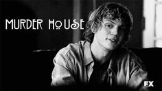 american horror story Evan Peters Black and White AHS MY EDIT ...