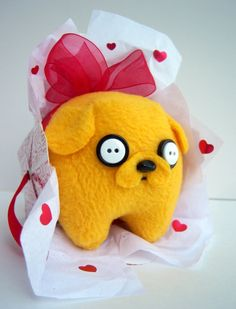 Adventure Time Jake the Dog Inspired Baby Plush by Plushimi
