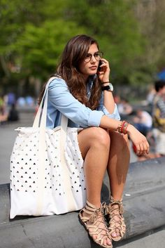 Fashion Outfit Inspiration With Summer Sandal http://www.ferbena.com/fashion-outfit-inspiration-with-summer-sandal.html