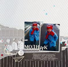 Скрапбукинг в деталях от Kate Harbar Polaroid Film
