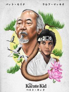 The Karate Kid 1984, Karate Kid Cobra Kai, Best Movie Posters, Movie Poster Art, Blade Runner Art, Cobra Kai Wallpaper, Romance Movies Best, Cobra Kai Dojo, 1984 Movie