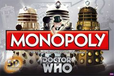 Doctor Who 50th Anniversary Collector's Edition Monopoly. This goes on my wishlist.