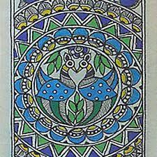 madhubani paintings peacock - Google Search