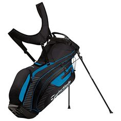 Best Golf Bags | TaylorMade Water Proof Stand Bag BlackBlue *** Check out the image by visiting the link.(It is Amazon affiliate link) #likesreturned