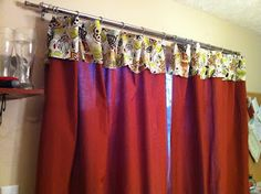 Patio Door curtains; Feb 2012