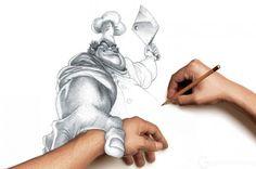 Çizimlere Gerçeklik Efekti Verme - Grafikerler.org