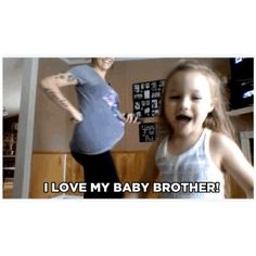 When you know your child is going to be a great sibling♡ #pregnancy #preggonista #siblings #momtobe