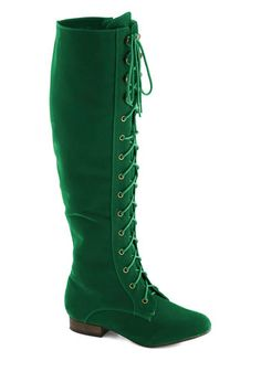 Everything Bold Is New Boot in Emerald, #ModCloth
