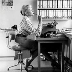 Afbeeldingsresultaat voor typemachine les jaren 70