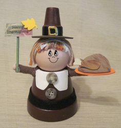 clay pots craft | Clay Pot Pilgrim