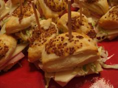Christmas Appetizer Recipes | Christmas Party Recipes ~ Cold Appetizers | A Recipe A Day