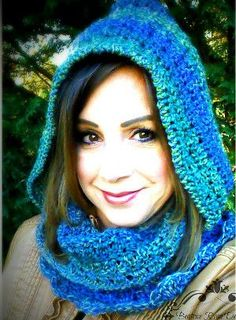 Amazing Grace Hooded Scarf