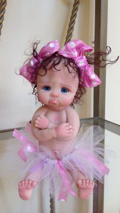 Discover thousands of images about My Joni Inlow OOAK, I call her BooBoo Lips. Cute Baby Dolls, Reborn Baby Dolls, Polymer Clay Dolls, Polymer Clay Crafts, Pretty Dolls, Beautiful Dolls, Cute Love Cartoons, Baby Fairy, Clay Baby