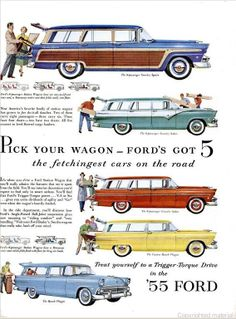 Ford, LIFE 18 Apr 1955