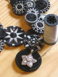 hand made buttons ||| Die Zeitmaschine - Wissenswertes über den Zwirnknopf - Zwirnknöpfe Sabine Krump