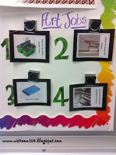 Art Room 104: High School Art Room Rules & Objectives Boards