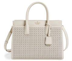 Kate Spade Leather Satchel, Crossbody Strap Street Handbag, Authentic Bag, NEW…