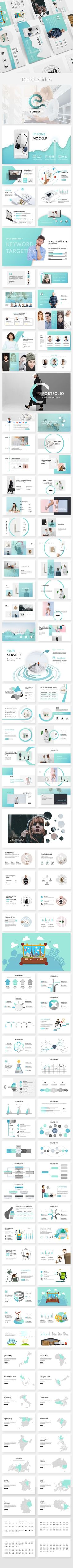 Eminent Creative Keynote Template — KEY #business template #professional • Download ➝ https://graphicriver.net/item/eminent-creative-keynote-template/21556412?ref=pxcr