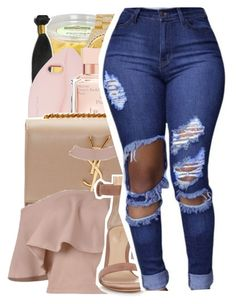 """Yeah I know yo babymomma fond of me...."" by shilohluvsu ❤ liked on Polyvore featuring STELLA McCARTNEY, Rolex, Maison Francis Kurkdjian, Yves Saint Laurent and Gianvito Rossi"