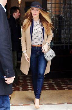 Blake Lively leaving her hotel in New York City I February 19