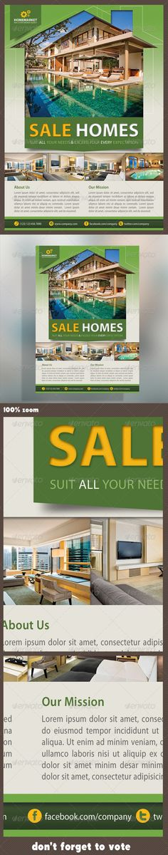 Simple Real Estate Flyer  Real Estate Flyers Real Estate And