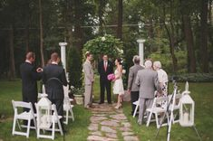 This is pretty much gunna be my wedding lol a few more chairs tho haha More