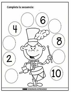 1 million+ Stunning Free Images to Use Anywhere Preschool Writing, Kindergarten Math Worksheets, 1st Grade Worksheets, Numbers Preschool, Preschool Learning, Preschool Activities, Toddler Learning, Math For Kids, Kids Education
