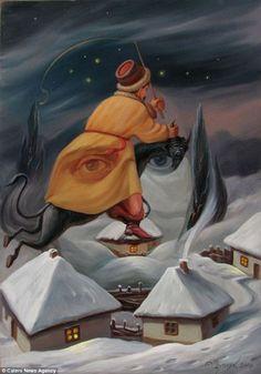 Painting by Oleg Shupliak