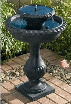 Sunshine POWER solar bird bath - Google Search