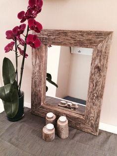Slik lager du et nydelig speil av drivvedplanker!