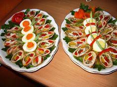 w kuchni i w ogrodzie: Roladki schabowe w galarecie Polish Recipes, Aga, Catering, Sushi, Lunch Box, Food And Drink, Appetizers, Ethnic Recipes, Party