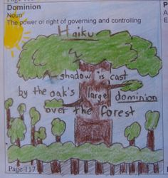 """Patrick's haiku using the word """"dominion"""" remains one of my favorites to use as a student model.  Check out our spring haiku contest: http://corbettharrison.com/free_lessons/Vocab-Haikus.htm#4"""