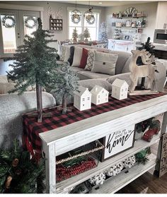Would absolutely love this look in a new home at Christmas 😍 Family Christmas, Christmas Eve, Tv Stand Christmas Decor, Farmhouse Christmas Decor, A Christmas Story, Christmas Movies, Country Christmas, Christmas Cards, Christmas Ideas