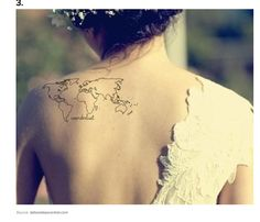 Tattoo. As a geographer, I feel like wanderlust is in my blood. Also, it would be cool to watercolour in each place as you visit it.