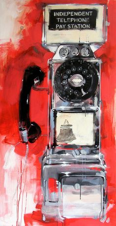 """Independent Telephone Pay Station"" by James Paterson"