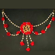 handmade jewelry | handmade flower jewelry | easy to make,bridal flower jewelry | flower jewelry for haldi | baby shower jewelry | flower jewelry for baby shower 2019 | flower jewelry for brides2019 | bridal jewelry |artificial flowers jewelry | latest design | how to make flower jewelry for haldi maang tikka making | diy maang tikka | fresh flower maang tikka | fresh flower jewelry | best bridal jewelry | best flower jewelry for bride | homemade flower jewelry | how to make flower jewelry… Flower Jewellery For Haldi, Bridal Flowers, Handmade Flowers, Crochet Necklace, Handmade Jewelry, Jewelry Making, How To Make, Crafts, Beautiful