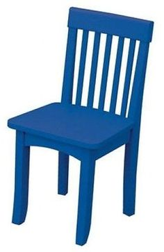 Sofas and Armchairs 134648: Kidkraft 16603 Kids Avalon Children S Wood Chair Blue New -> BUY IT NOW ONLY: $45.95 on eBay!