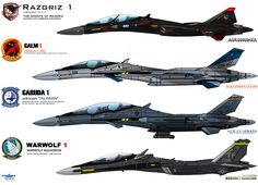 IFXs - ACE COMBAT 5, Zero, 6, Assault Horizon by haryopanji.deviantart.com on @DeviantArt