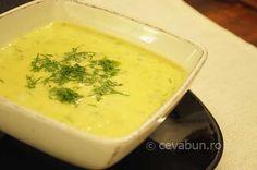 Supa crema de dovlecei - cum se face. Supe creme simple si gustoase. Supa de legume.